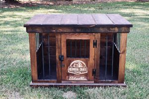 Customizable Wooden Dog Crate for Sale in Smyrna, GA