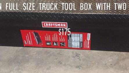 Full Size Truck Tool Box for Sale in North Las Vegas,  NV
