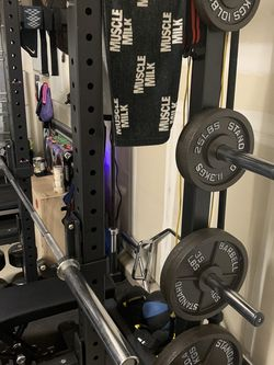 Cast Iron Olympic Plates 230 Lbs - $400 for Sale in Rocklin,  CA