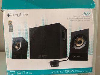 Logitech Z533 120W Speakers for Sale in Inglewood,  CA