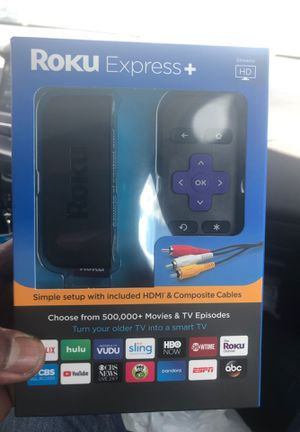 Brand New Roku Express Plus for Sale in Herndon, VA