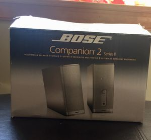 Bose Series 2 multimedia speakers new in box for Sale in Perkasie, PA