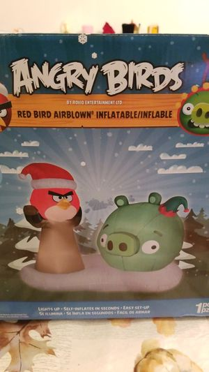 Angry Birds Christmas inflatable for Sale in Virginia Beach, VA
