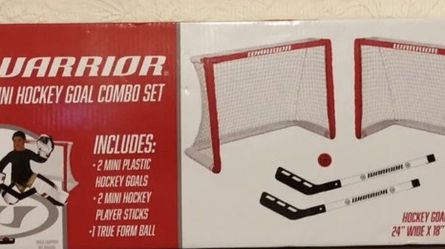 Warrior Hockey Mini Hockey Game Combo Set for Sale in East Providence,  RI