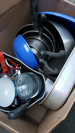 Box of cookware for Sale in Silver Spring,  MD