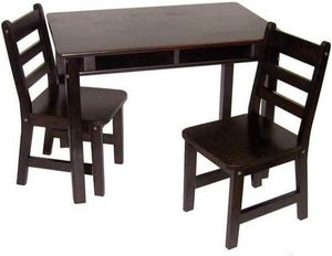 Kidkraft Dark Brown Wood Table w/ 2 Chairs for Sale in Port St. Lucie, FL