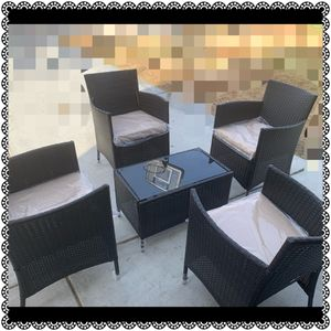 5 pcs patio furniture $590 obo for Sale in Bakersfield, CA