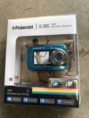 Digital waterproof camera Polaroid is085 for Sale in Naperville, IL