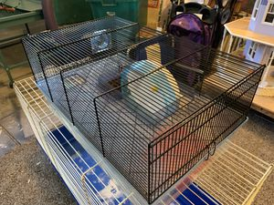 Super nice hamster small animal cage with accessories for Sale in Corona, CA