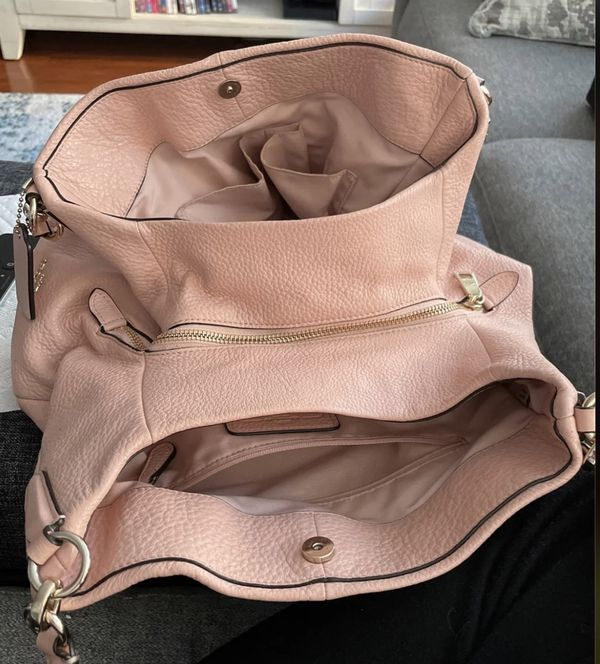Pink Coach Hobo Purse