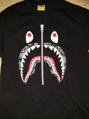 Bape Glow in the Dark Space Camo Shark for Sale in Houston, TX