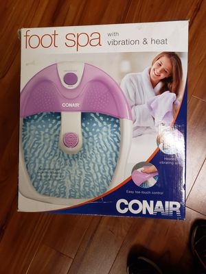 Conair Foot Spa for Sale in Woodbury, NY