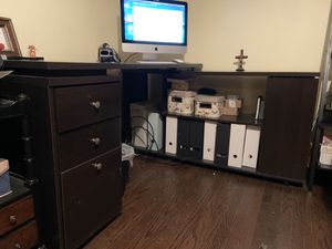 Computer desk, excellent condition for Sale in Blue Island, IL