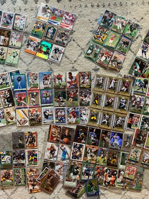 200+ trading cards (mostly football) for Sale in Austin, TX