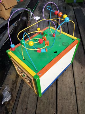 Activity cube, with toy storage for Sale in Lake Stevens, WA