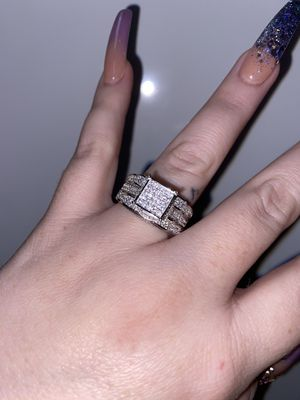 SIZE 8 💜 New engagement wedding ring for Sale in San Antonio, TX