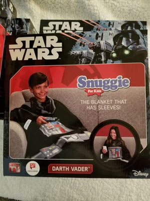 Brand New Never Used Star Wars Snuggie for kids for Sale in Anaheim, CA