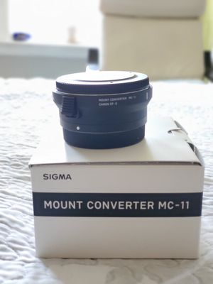 Sony Canon Mount converter mc-11 canon ef-e for Sale in Brooklyn, NY