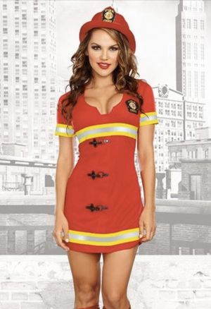 Women's Halloween Costume Size Small - Firefighter for Sale in Washington, DC