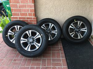 Toyota Tacoma rims and tires for Sale in Seal Beach, CA