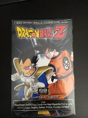 DragonBall Z Panini starter deck $10 for Sale in San Diego, CA