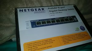 NET GEAR, brand new in box, 8port for Sale in Akron, OH