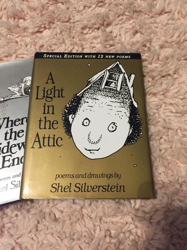 3 Shel Silverstein books