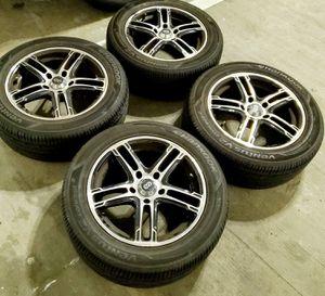 4 16 in 5x114.3 wheels rims tires. enkei for Sale in Germantown, MD