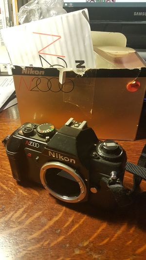 Nikon N2000 analog film camera for Sale in Cary, NC