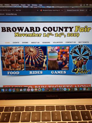 I HAVE SEVERAL VIP FAIR TICKETS! GA WITH UNLIMITED RIDES! for Sale in Cooper City, FL
