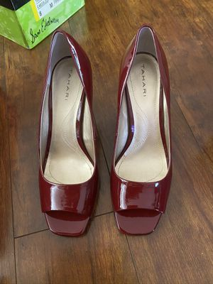 Burgundy heels for Sale in Los Angeles, CA