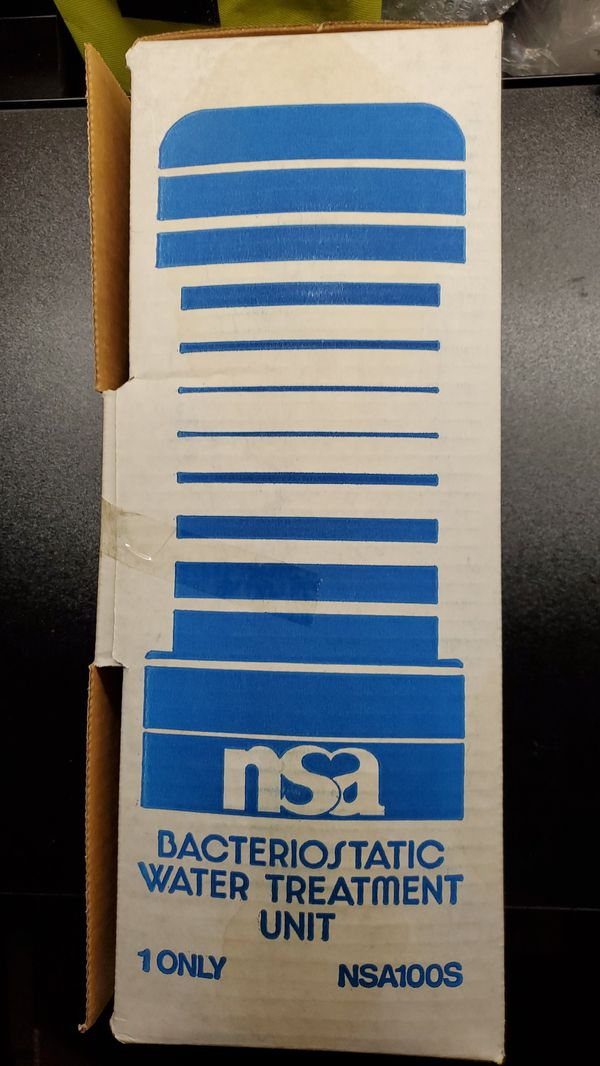 NSA100S Under Counter Bacteriostatic Water Filter