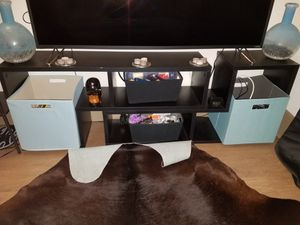 "27"" high puzzle like tv stand for Sale in Tampa, FL"