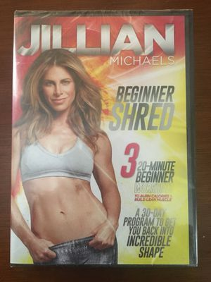 Jillian Michaels Beginner Shred 3 20-Minute Beginner Workout for Sale in Detroit, MI