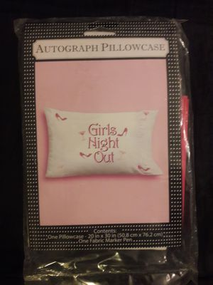 Holiday Sale - Autograph Pillowcase for Sale in Los Angeles, CA