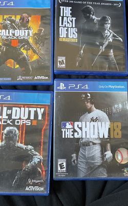 ps4 games for Sale in Covina,  CA