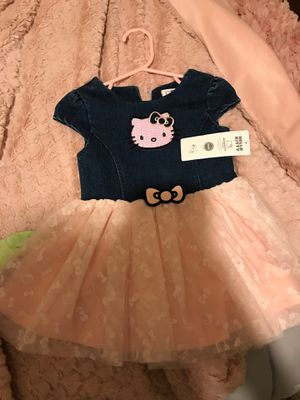 Brand new babygurl hello kitty dress for Sale in San Diego, CA