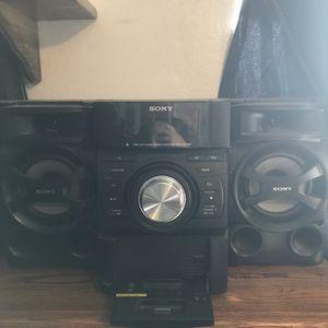 Sony Mini Hi-Fi Speaker System for Sale in Chino Hills, CA