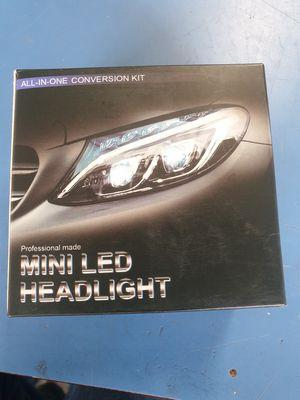 Mini LED headlight bulbs 6k 8000LM for Sale in New York, NY