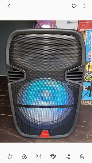 rider 15 in speaker with lights ball for Sale in Norwalk, CA