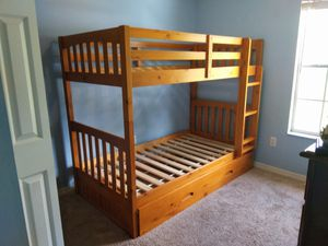 Bunk Bed with Trundle for Sale in Palm Bay, FL