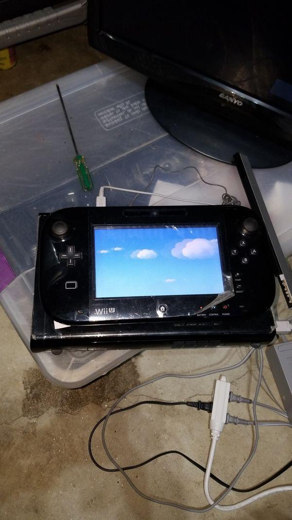 Nintendo Wii U with Super Mario