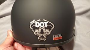 Half helmet size small 55-56 DOT Approved for Sale in Lynwood, CA