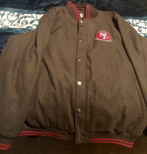49ers Varsity Jacket 2x for Sale in Fresno, CA