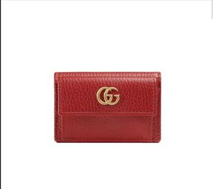 Gucci Marmont Leather Wallet - Red for Sale in Washington, DC