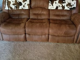 Couch And 2 Recliners for Sale in St. Peters,  MO