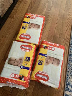 HUGGIES Snug & Dry Diapers, Size 1 for Sale in Washington, DC