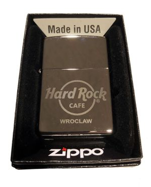 Hard Rock Cafe WROCLAW Collectible ZIPPO Lighter for Sale in Hainesville, IL