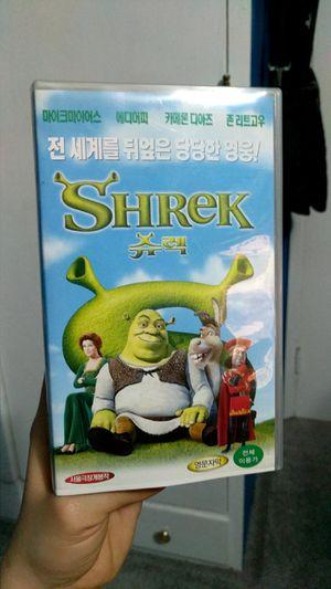Shrek - Korean VHS for Sale in Mountlake Terrace, WA