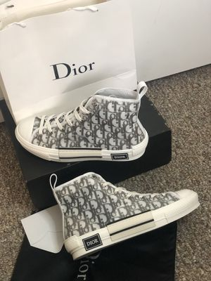 B23 high top sneaker in Dior Oblique, Size 44 EUR and 11 US for Sale in Washington, DC